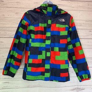 The North Face Boys Hyvent Hooded Rain Jacket
